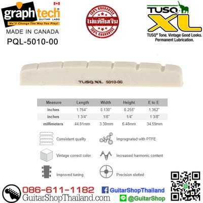 นัทกีตาร์ Graph Tech® TUSQ XL STRAT 44MM(OEM)