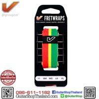 เฟรตแร๊พ Gruv Gear FretWraps Red/Yellow/Green