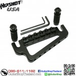 หย่อง Hipshot BabyGrand Guitar Bridge Black