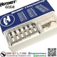 หย่องกีตาร์ Hipshot® Hardtail 6String Fixed Chrome