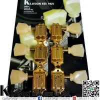ลูกบิด Kluson®3L3R Vintage Deluxe Keystone Gold