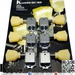 ลูกบิด Kluson® 3+3 Vintage 50s Keystone Chrome