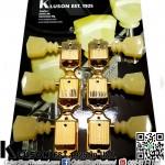 ลูกบิด Kluson®3L3R Vintage 50s Keystone Gold