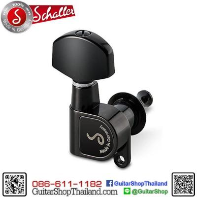 ลูกบิด Schaller M6 180 3R+3L Black