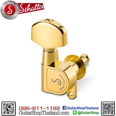 ลูกบิด Schaller M6 180 3R+3L Gold