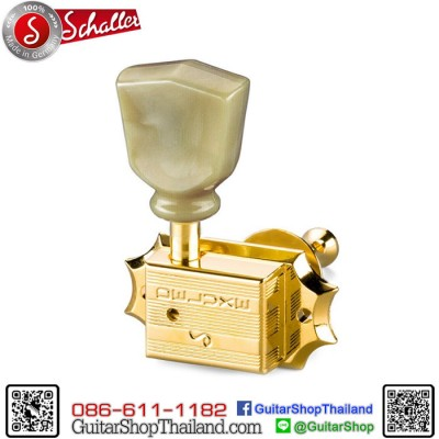 ลูกบิด Schaller® Original G-Series Keystone Gold