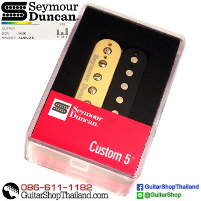 ปิ๊กอัพ Seymour Duncan® Custom 5 Bridge SH-14Zebra