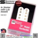 ปิ๊กอัพ Seymour Duncan® 59 SH-1Neck White(ตัดคอยล์ได้)