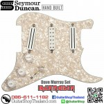 ปิคอัพ Seymour Duncan Dave Murray Pre-loaded Pickguard Pearloid