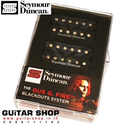 ปิ๊กอัพ Seymour Duncan® Gus G Blackout Set