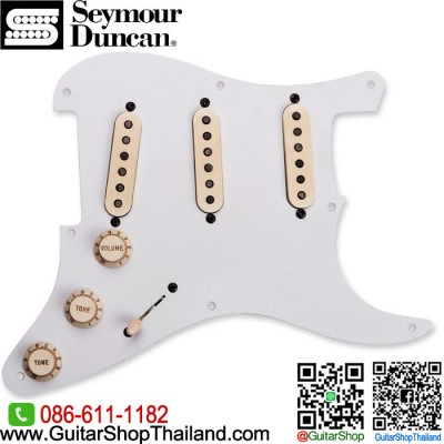ปิ๊กอัพ Seymour Duncan® Antiquity Texas Hot Fully Loaded Strat Relic Pickguard
