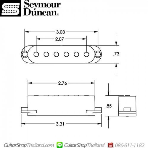 ปิ๊กอัพ Seymour Duncan® California 50's™ Set