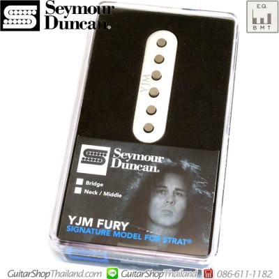 ปิ๊กอัพ Seymour Duncan®STK-S10 Neck/Middle YJM Fury White