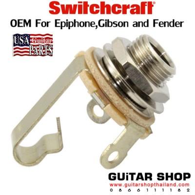 แจ็คกีตาร์ Switchcraft®Mono Nickel