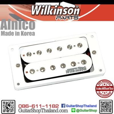 ปิ๊กอัพ Wilkinson® Alnico5 Humbucker Bridge White
