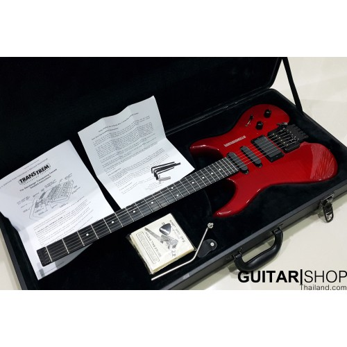 Steinberger GM-4T Transparent Red