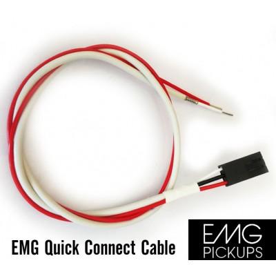 สายไฟปิ๊คอัพ EMG 3pin 38cm