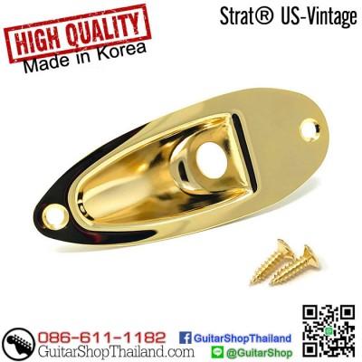 ฝาแจ็คกีตาร์ Strat® Vintage US Gold Style