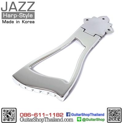 หย่องกีตาร์แจ๊ส Harp Style Trapeze Chrome