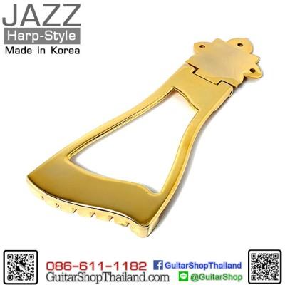 หย่องกีตาร์แจ๊ส Harp Style Trapeze Gold
