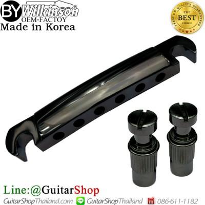 หย่องหลังเลสพอล Stop Bar Tailpiece Black Nickel