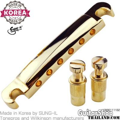 หย่องหลังเลสพอล Stop Bar Tailpiece Gold