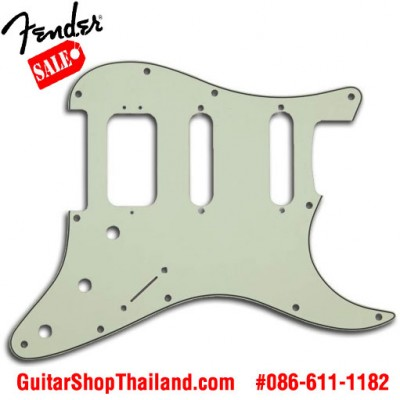 ปิ๊กการ์ด Fender Strat®HSS 3Ply Mint Green
