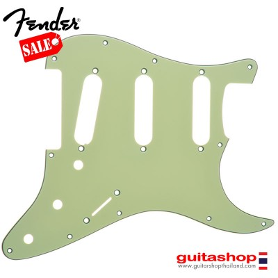 ปิคการ์ด Fender Strat® SSS 11hole 3Ply Mint Green