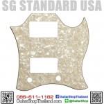ปิ๊กการ์ด SG Standard 3Ply Age White Pearl