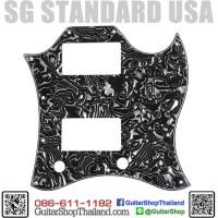 ปิ๊กการ์ด SG Standard 4Ply Black Pearl