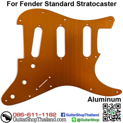 ปิคการ์ด Strat® SSS 11Hole Aluminium Copper