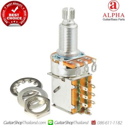 พอทตัดคอยล์แบบดึง ALPHA® A500K DPDT Push/Pull