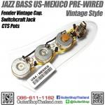 ชุดวงจรเฟนเดอร์ Jazz Bass Vintage Style