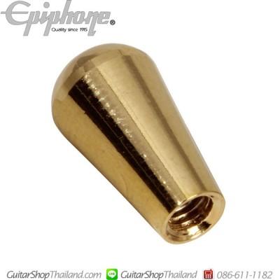 จุกสวิทช์กีตาร์โลหะสีทอง Epiphone®