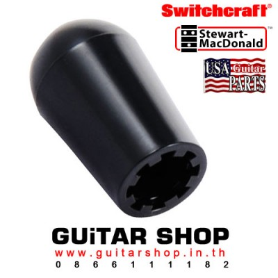 จุกสวิตซ์กีตาร์ Switchcraft® Gibson Black
