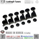 ลูกบิดล็อคสาย EZ-LOK® JN-07SP-6L Black Set
