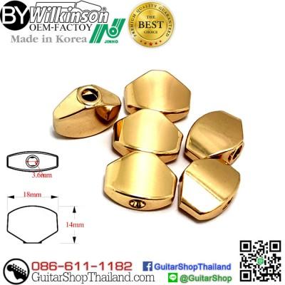 ใบลูกบิดกีตาร์ Wilkinson M6 Style Gold