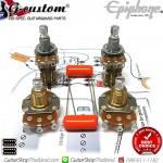 ชุดพอทกีตาร์ Epiphone®500K 2Push/Pull DPDT.