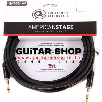 สายสัญญาณกีตาร์ Planet Waves American Stage Instrument Cable 15 feet