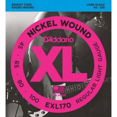 สายเบสไฟฟ้า D'Addario Bass Guitar EXL165