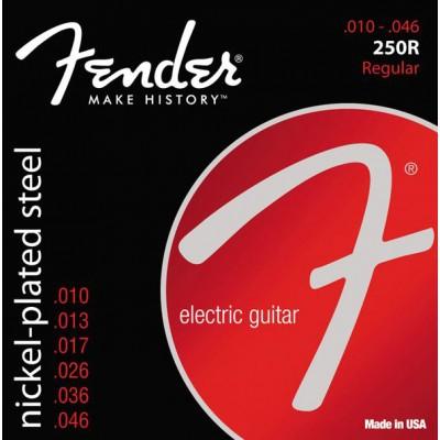 สายกีตาร์ไฟฟ้า Fender Super 250R Nickel Plated Steel 10-46