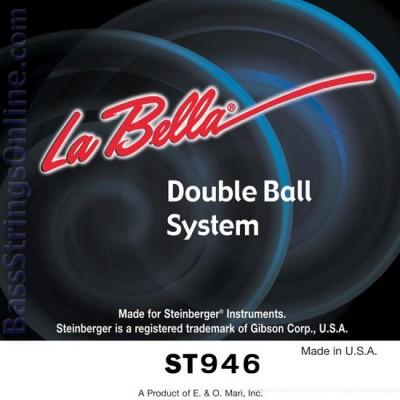 สายกีตาร์หัวตัด LA BELLA ST946 Steinberger Double Ball End 09-46
