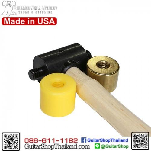 ค้อนตอกเฟรตทองเหลือง/พลาสติก Made in USA