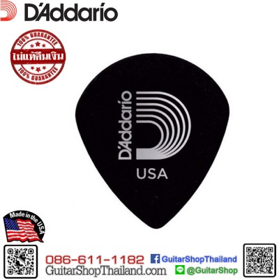 ปิ๊กกีตาร์ Planet Waves Black Ice Picks 1.50mm