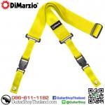 สายสะพายกีตาร์ DiMarzio Nylon ClipLock® Yellow
