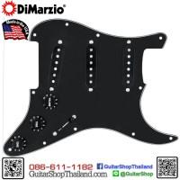 ปิ๊กอัพ DiMarzio Vintage Strat® Loaded Pickguard Black