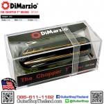 ปิ๊กอัพ DiMarzio® The Chopper T™ DP384 Black/Gold