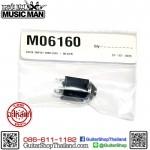 แจ็ค MusicMan® Guitar&Bass Jack 4 Lug Black M65160