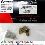 แซดเดิล Fender American Vintage Tele® Brass