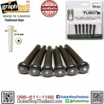 หมุดกีต้าร์โปร่ง Graph Tech TUSQ Traditional Style Black PP-2182-00